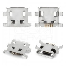 Ficha Mini USB 5 pinos 180º  tipo B