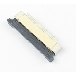 Conector FPC FFC 0.5mm Pitch 28 Pin