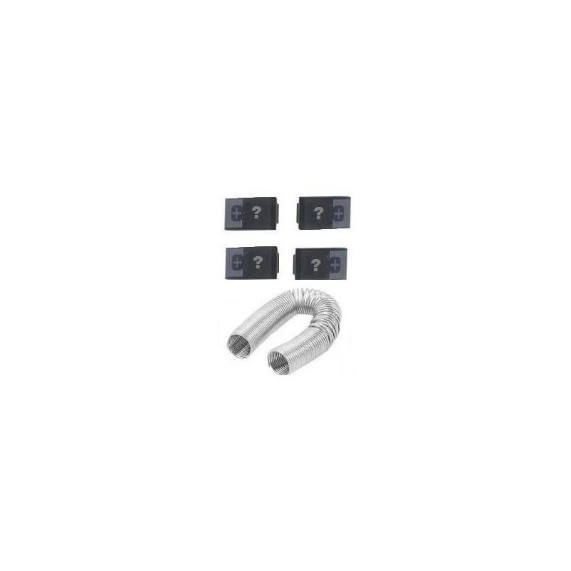 (OE907) Self Repair Kit Toshiba A300 / L300 - 330uf 2,5V ESR 7