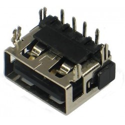 Ficha / Conector USB 10mm Flat mouth SHORT