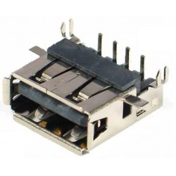 Ficha / Conector USB Pin face up 4.9mm