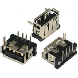 Ficha / Conector USB  SHORT 10mm TOP Mount