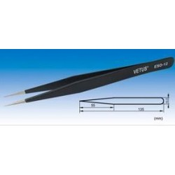 Pinça Antiestática Antimagnética ESD-12