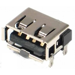 Ficha / Conector USB  10mm