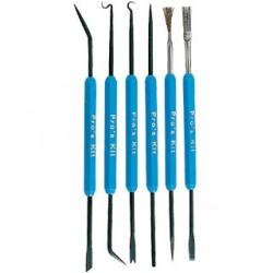 Kit de ferramentas para soldadura 6 peças