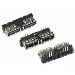 Ficha / Conector USB  10mm TOP Mount