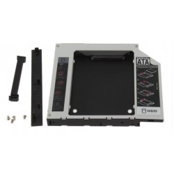 Hard Drive Sata Caddy for 12.7mm Universal CD / DVD-ROM Optical Bay