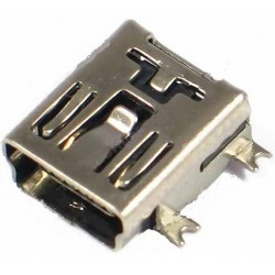 Ficha Mini USB 5 pinos