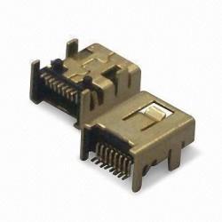 Ficha Mini USB 8 pinos tipo B
