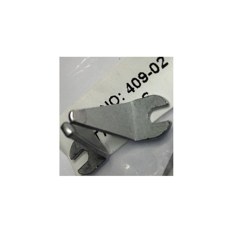 1 par de pontas para pinça ZD-409 de 2 mm