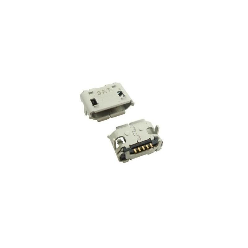 Ficha Mini USB 5 + 2 pinos 90º tipo B