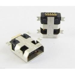 Ficha Mini USB 10 pinos  tipo B