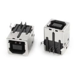 Ficha / Conector USB  B para impressora.