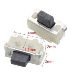 Microswitch 2x4x3.5mm SMD