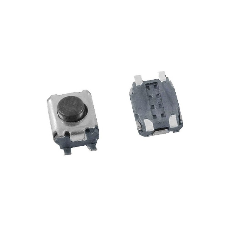 Microswitch 3x3.5x2mm 4 pin SMD