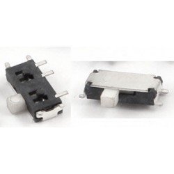 Microswitch On/Off SPDT 4+3 Pin Slide SMD