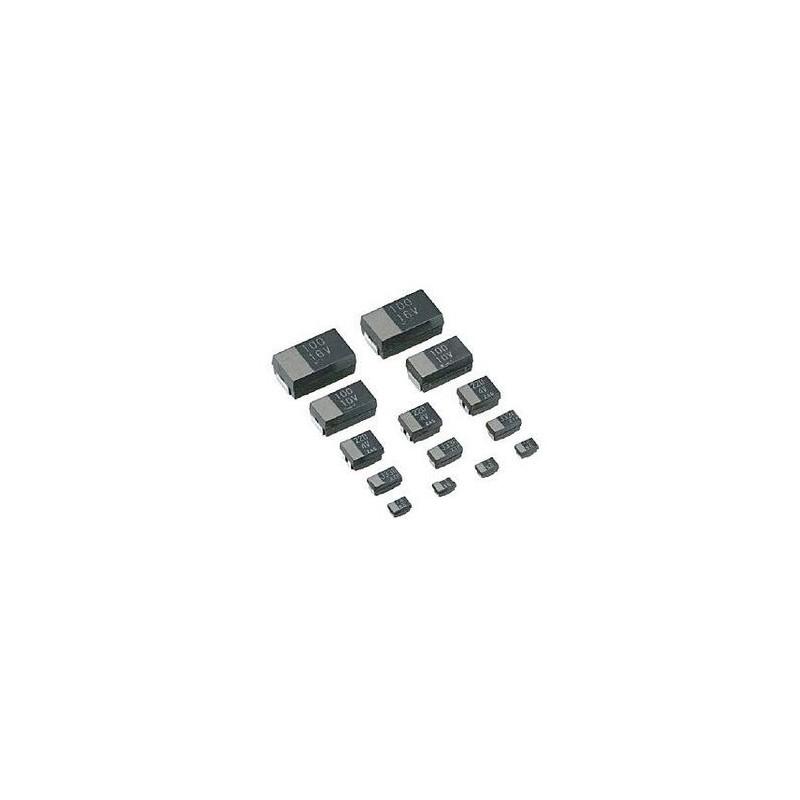 Condensador de Tântalo 330uf 6.5v