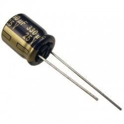 Condensador Eletrolítico 330 μF 25 V