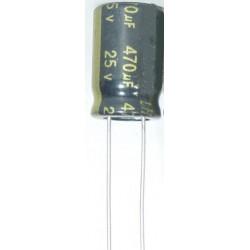 Condensador Eletrolítico 470 μF 25 V