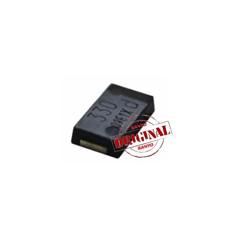 Condensador de Tantalo 330uf 2,5V LOW ESR 7