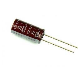 Condensador Eletrolítico 820 μF 25 V